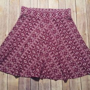 Ann Taylor LOFT Flare Circle Skirt Size SP (4-6)